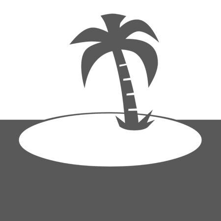 retreat: Island illustration