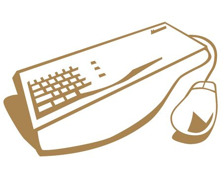Keyboard and mouse icon