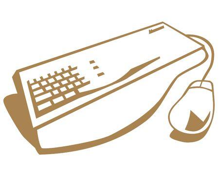 Toetsenbord en muis icoon
