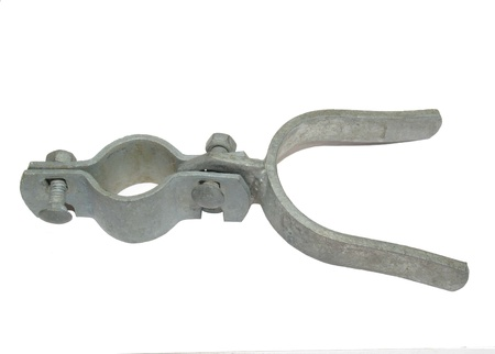galvanize: Galvanize chain link fence gate latch