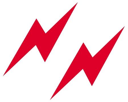 Lightning icon Reklamní fotografie