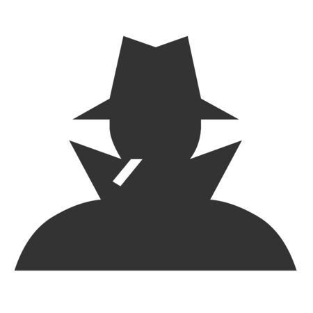 the trench: Man silhouette icon
