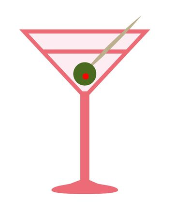 Martini drink icon