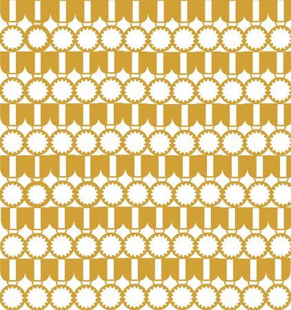 Gold medal background illustration Banco de Imagens