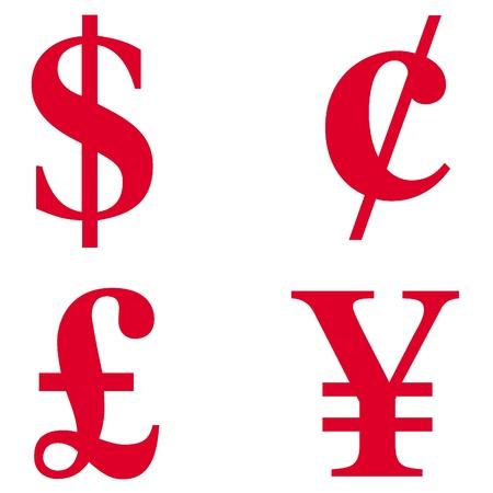 お金のアイコン 写真素材