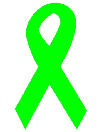 dystrophy: Muscular Dystrophy awareness ribbon icon Stock Photo