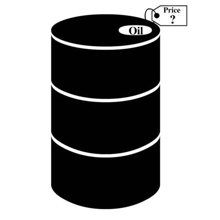 Oil barrel icon photo