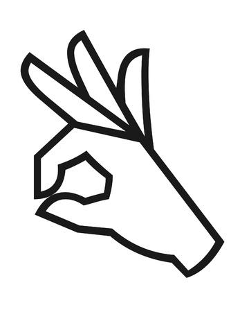 folded hand: Hand  symbol