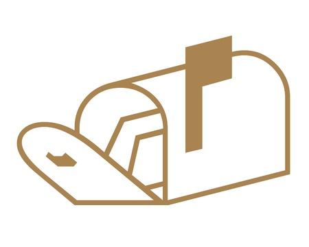Mailbox icon Banco de Imagens