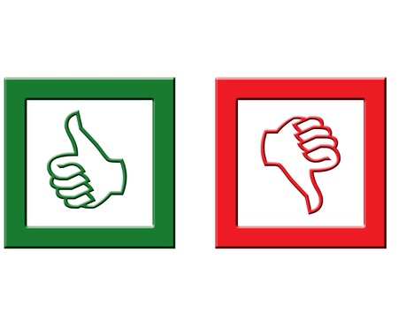 rejected: Approved and rejected icons