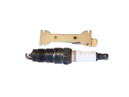 Automotive spark plug and gauge