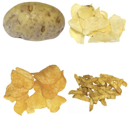 Potato products photo