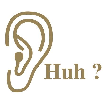 Ear illustration Imagens