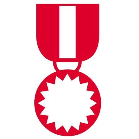 Red medal icon