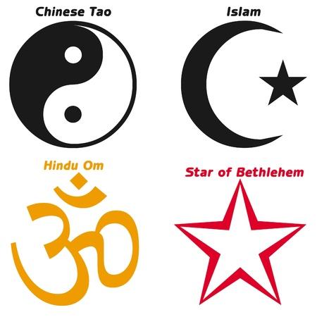 Religious symbols Stock Photo - 12165076