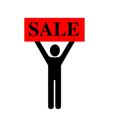 Sale illustration Stock fotó