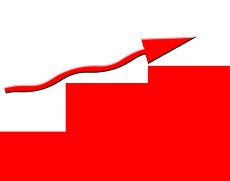 graft: Growing business illustration Stock Photo