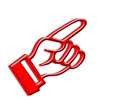3D Finger pointing