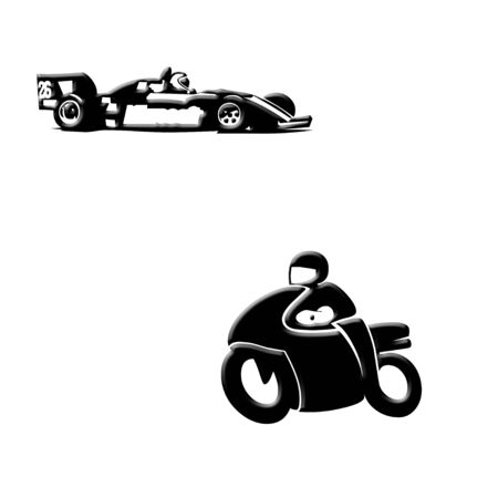 Racers illustration