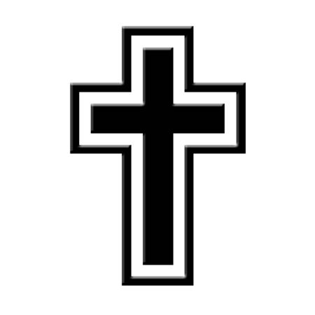 Black cross icon