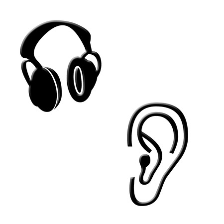 Ear and protectors icons