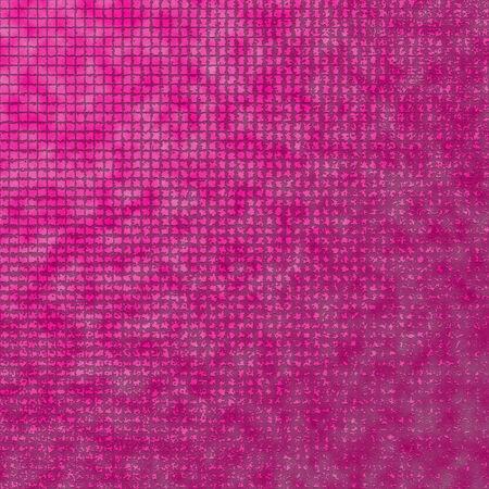 Magenta tiles background Stock Photo