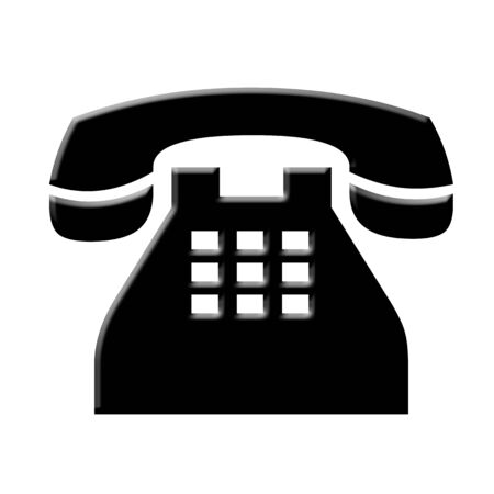 touch tone phone illustration Stock fotó - 68439824