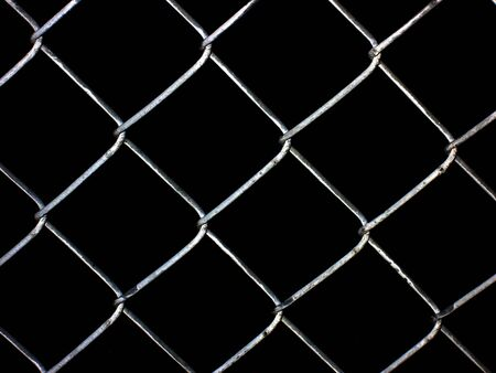 Chain link fence pattern black background
