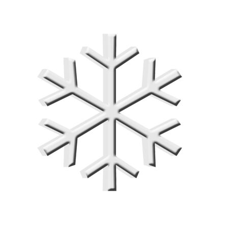 雪フレーク アイコン