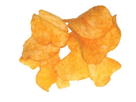 Barbecue potato chips photo
