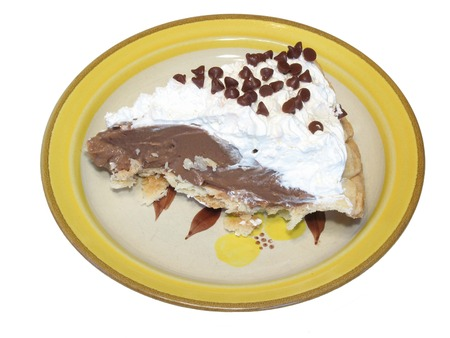Chocolate pie photo