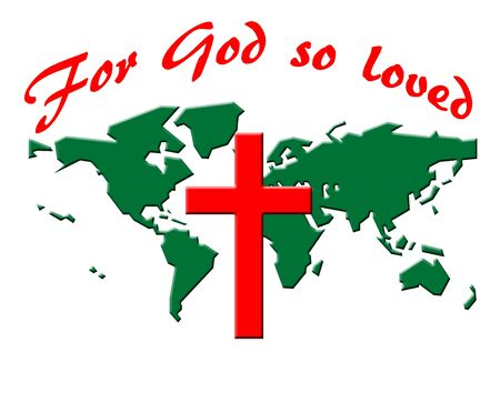 For God so loved the world illustration