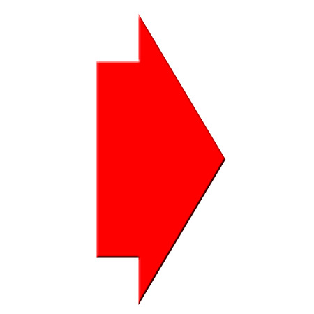 Red arrow icon