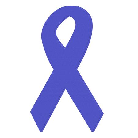 Paars epilepsie bewustzijn lint pictogram Stockfoto - 71553732