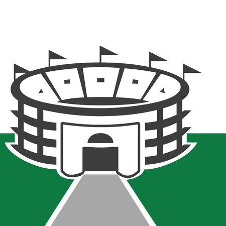 Stadium illustratie