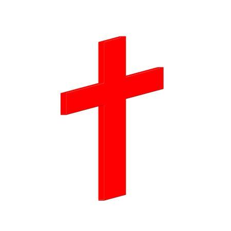 Red  cross icon Stock Photo