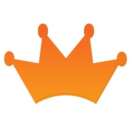王冠アイコン 写真素材