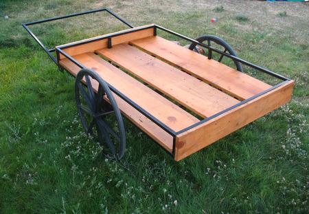 Homemade game cart