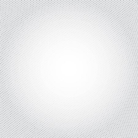 disappear: Vector geometric background. Fading dots massif. Numerous little circles illustration on light backdrop