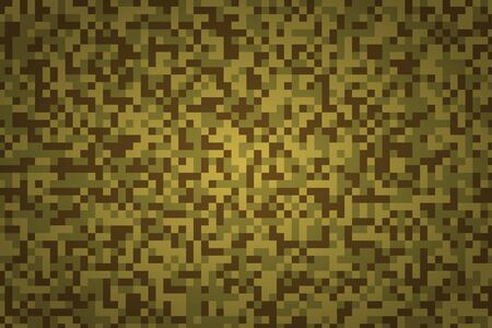 Khaki camouflage. Abstract geometric rectangular background illustration