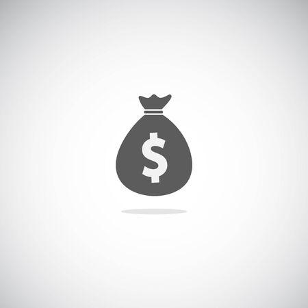 Simple moneybag icon.