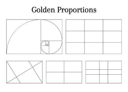 Composition proportion help guidelines set for arrangement adjusting