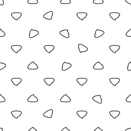 Seamless paper background with thinline scattered crap Ilustração