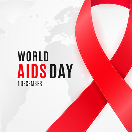World Aids Day poster design for National HIV Awareness Campaign