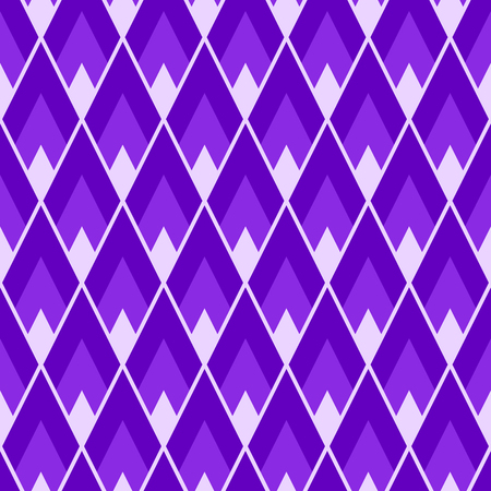 Seamless rhombus pattern. Protone purple tile geometric textile texture
