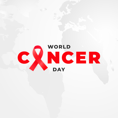 February 4 is a World Cancer Day Archivio Fotografico - 115564494