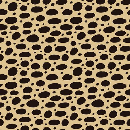 Gepard tile print. Seamles african animal pattern
