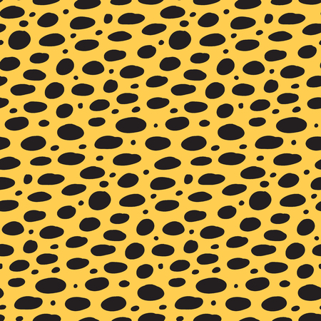 Cheetah print. Abstract seamless animal print texture