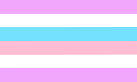 Bigender pride flag - one of a communities of LGBT sexual minority. Imagens - 120702082