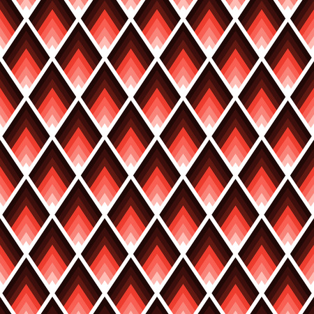 Geometric tile pattern with rhombus with sharp angles Imagens - 124971744